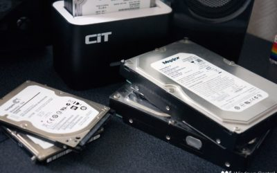 Discarding computer hard drives can be dangerous