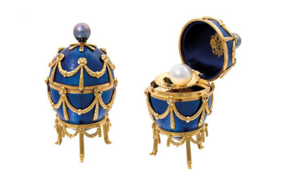 Counterfeit eggs? Faberge eggs that is